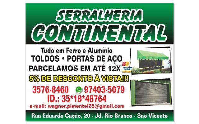 2749a142eb1 Serralheria continental - Serviços - Jardim Rio Branco