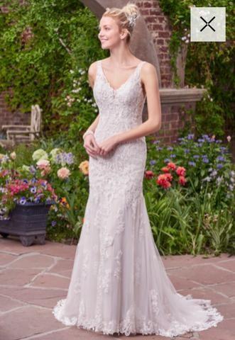 06c32af95 Vestido de noiva importado tam 38 ajustável - Roupas e calçados ...