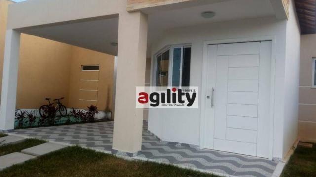 Casa com 3 dormitórios para alugar, 95 m² por r$ 1.400/mês - liberdade - parnamirim/rn - Foto 3