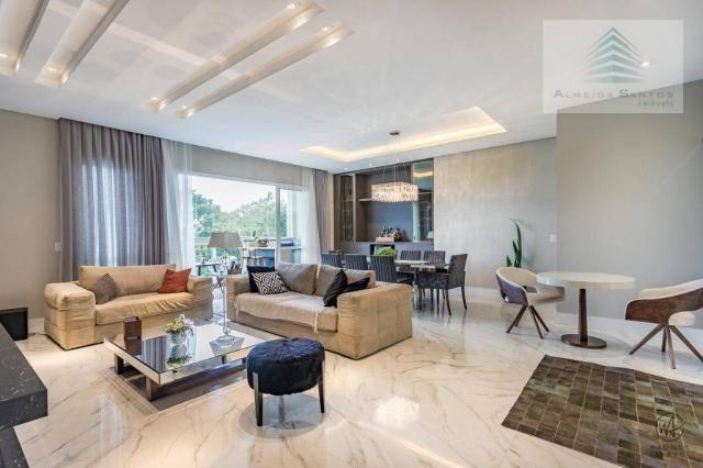 Apartamento à venda, 185 m² por r$ 1.549.000,00 - campo comprido - curitiba/pr - Foto 2