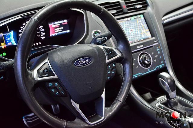 Ford Fusion 2.0 GTDi Titanium Teto solar revisado estado excelente!! - Foto 10