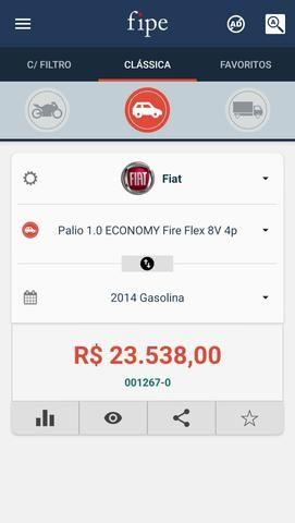 Fiat Palio Fire Economy 4P 1.0 2014