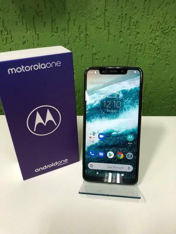 Motorola one 64 gb - branco 12 x 89,00