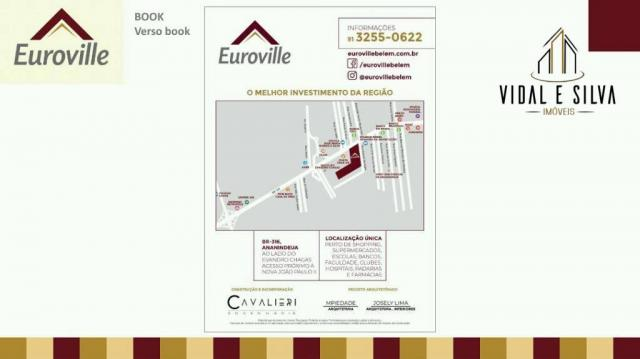 Condomínio euroville, terrenos, lotes residenciais, 160m² à 365m² - centro - ananindeua/pa - Foto 20