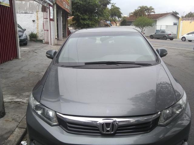 Honda civic lxr 2.0, cor cinza automático, flex