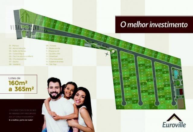 Condomínio euroville, terrenos, lotes residenciais, 160m² à 365m² - centro - ananindeua/pa - Foto 8