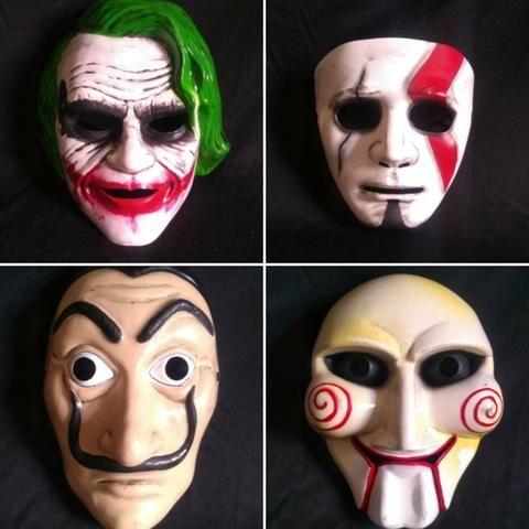 Mascaras Para Halloween E Fantasia Hobbies E Colecoes Riacho