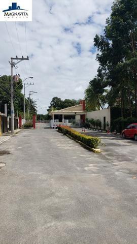 Terreno 900m². Nascente. Plano. Condomínio Jardim Santo Antônio. Estrada do Coco - Foto 3