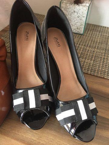 Sapatos novos 37 - Foto 6