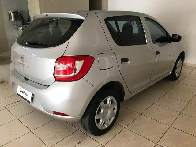 Sandero Authentic Completo+Airbag+Abs 65mil/km - Foto 6