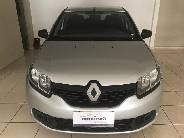 Sandero Authentic Completo+Airbag+Abs 65mil/km