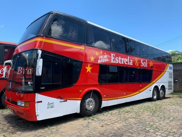 Ônibus DD Scania K113 Impecável - Pronto para viajar e trabalhar! - Foto 13