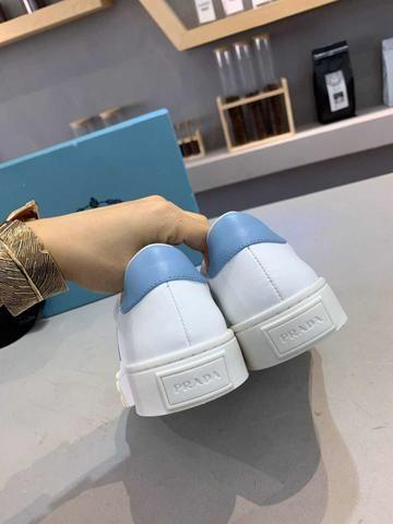 Tênis Prada White Blue - Foto 6