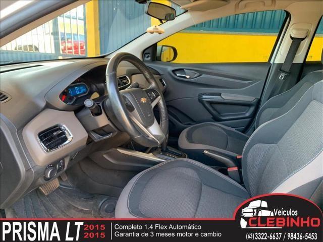 CHEVROLET PRISMA 1.4 MPFI LTZ 8V FLEX 4P AUTOMÁTICO - Foto 7