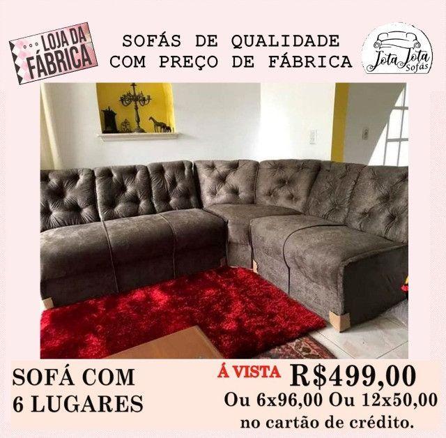 Conforto e Qualidade você encontra So aqui Lindos Sofás a Partir de R$349,00!!! - Foto 4