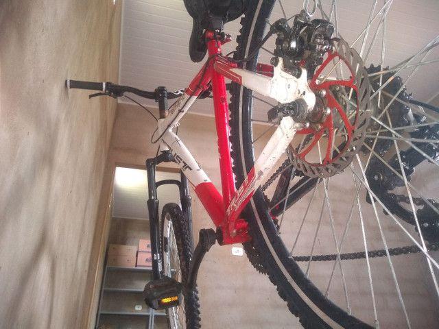 Bicicleta Trust semi nova - Foto 4