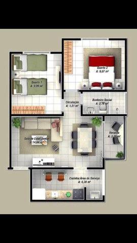 R$ 100 mil reais Ap.no residencial Celta em Castanhal bairro novo estrela - Foto 19
