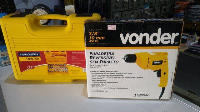 Parafusadeira elétrica Vonder - Foto 6