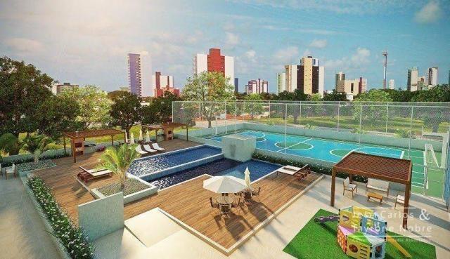 Repasse 130m² Eco Oceania! Apartamento com 3 suítes - Vista mar - Varanda gourmet - Jardim - Foto 11