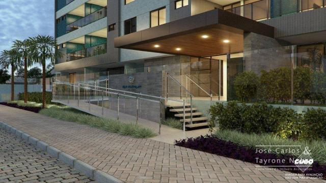 Repasse 130m² Eco Oceania! Apartamento com 3 suítes - Vista mar - Varanda gourmet - Jardim - Foto 2