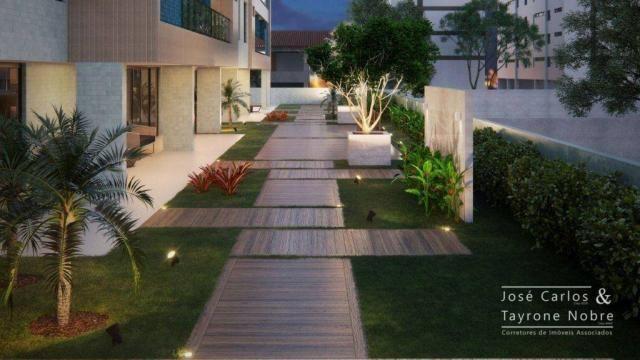 Repasse 130m² Eco Oceania! Apartamento com 3 suítes - Vista mar - Varanda gourmet - Jardim - Foto 10