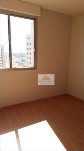 Apartamento com 2 dormitórios para alugar, 75 m² por R$ 1.050/mês - Centro - Ribeirão Pret - Foto 4