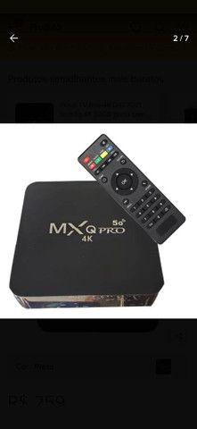 Tv box Mx QPRO 4K /5G - Foto 2