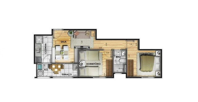 Apartamento 8º andar - Residencial Dom Lugo - Foto 15