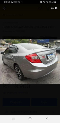 VENDO HONDA CIVIC/PARCELADO  - Foto 10