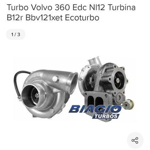 Turbina Scania 420 e volvo edc