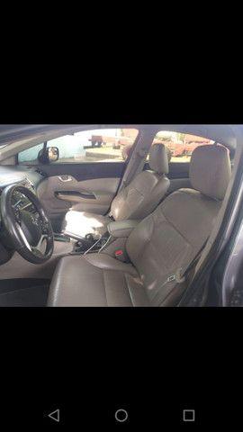 Honda Civic LXR 2.0 Flex - 14/15 - Automático, completo - Foto 6