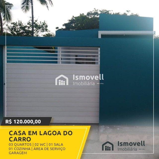 Casa em Lagoa doCarro - Foto 2