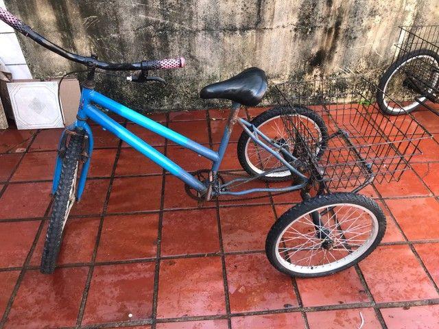 Tricicolo Azul cesta de carga - Foto 2