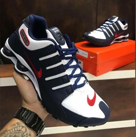 Tenis (Leia a Descrição) Nike Shox Várias Cores Novo - Foto 2