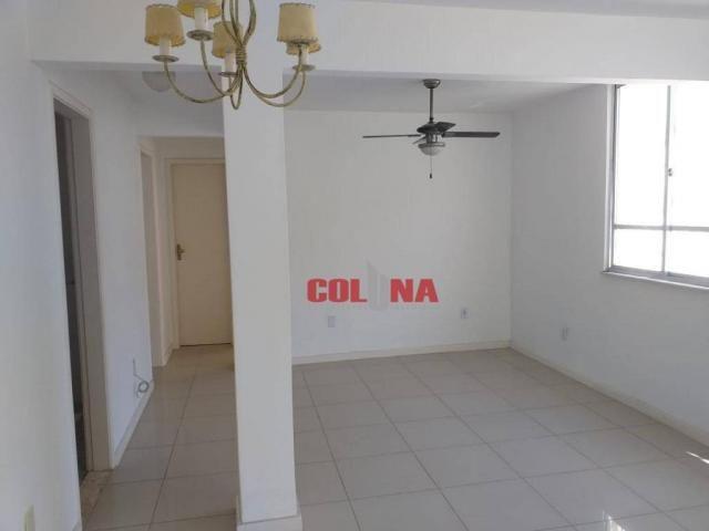 Apartamento com 2 dormitórios para alugar, 45 m² por R$ 1.000,00/mês - Santa Rosa - Niteró