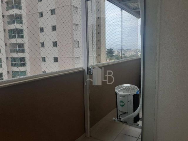 Apartamento com 3 quartos para alugar, 90 m² por R$ 2.200/mês - Centro - Uberlândia/MG - Foto 17