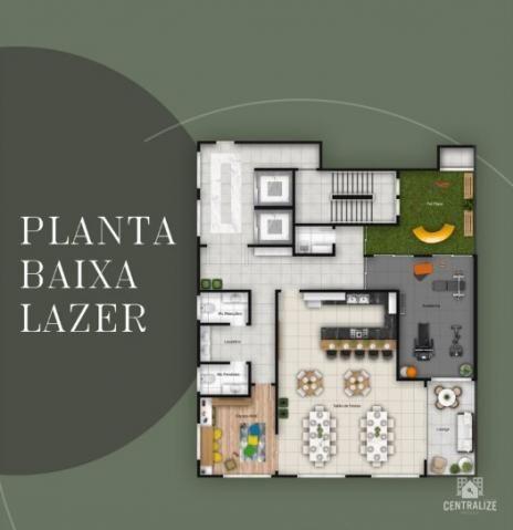 Apartamento à venda com 3 dormitórios em Estrela, Ponta grossa cod:1537 - Foto 9