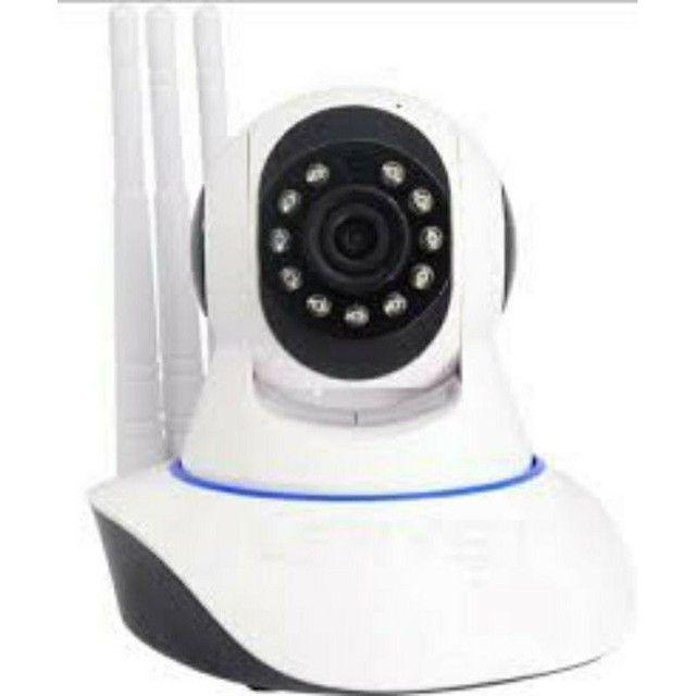 Câmera Robô 3 Antenas Ip Wifi com rotação 360º 720p Pronta entrega - Foto 3