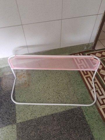Vendo Grade de proteção de cama rosa infantil 50 - Foto 4
