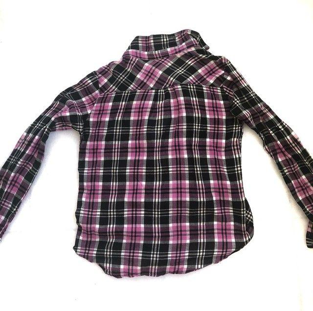 camisa feminina xadrez - Foto 3