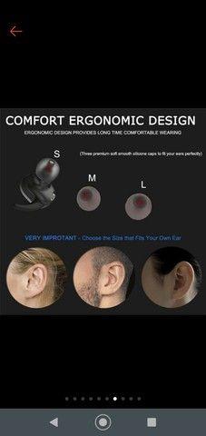 Fone Y30 Tws De Ouvido Sem Fio  Bluetooth Controle De Toque Headset - Foto 5