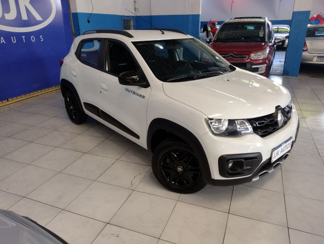 Kwid outsider 1.0 2020 GNV super extra. - Foto 3