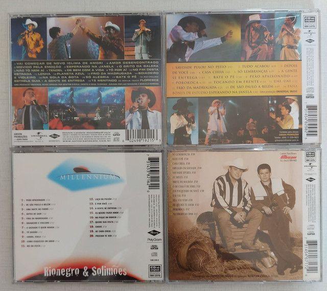 COLEÇÃO 4 CDs RIONEGRO & SOLIMÕES - PERFEITO ESTADO - Foto 3
