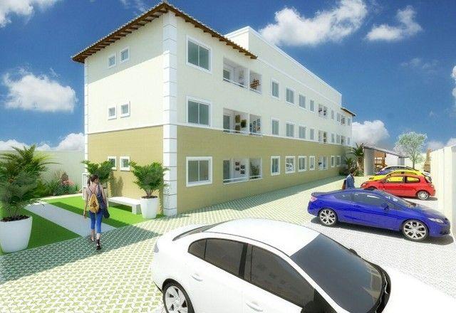 GÊ Apartamento, bairro Jangurussu, 2 dormitórios, 2 banheiros, 1 vaga. - Foto 2