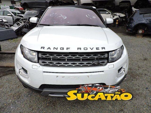 Range Rover Evoque Sucata Retirada De Peças
