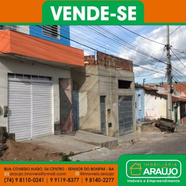 VENDE-SE PRÉDIO COMERCIAL/RESIDENCIAL