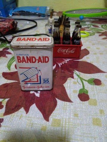 Lata de Band-aid antiga !!!!