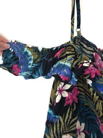 camisa florida da forever 21 - Foto 3