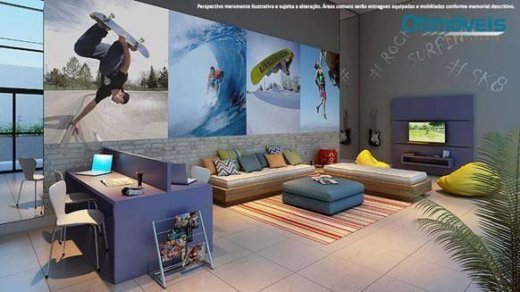 Apartamento com 2 dormitórios à venda, 56 m² por r$ 345.900,00 - santo inácio - curitiba/p - Foto 14