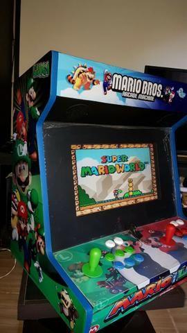 Fliperama Arcade Multijogos Sensor Óptico 0 Delay Todos os Jogos Clássicos - Foto 4